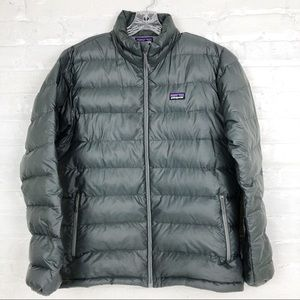 Patagonia Men's Down Puffer Black Coat Medium